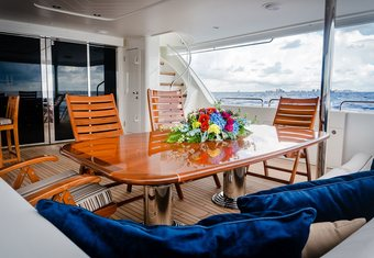 Lady JJ yacht charter lifestyle