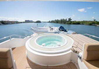 Brandi Wine yacht charter lifestyle