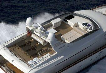 Anassa A yacht charter lifestyle