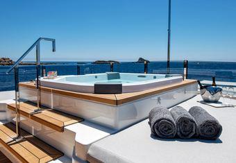 Sangha yacht charter lifestyle