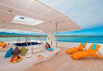 Cormorant yacht charter lifestyle