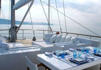 Mata Mua yacht charter lifestyle