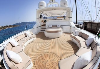 Mina II yacht charter lifestyle