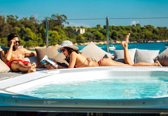 Ouranos yacht charter lifestyle