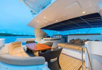 Xanadu of London yacht charter lifestyle