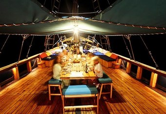 Tiger Blue yacht charter lifestyle