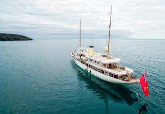 Haida 1929 yacht charter lifestyle