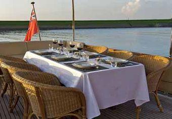 Atalanta J yacht charter lifestyle