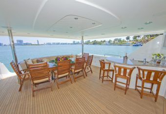 Alicia yacht charter lifestyle