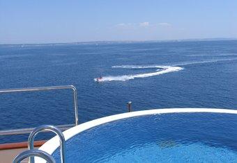 Big Aron yacht charter lifestyle