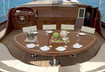 Queen Of Karia yacht charter lifestyle