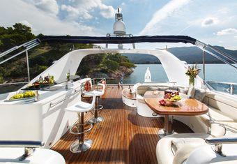 Nitta V yacht charter lifestyle