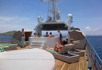 Salila yacht charter lifestyle