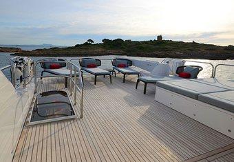 Princess 95 yacht charter lifestyle