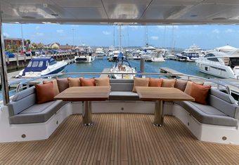 Sedative yacht charter lifestyle