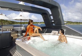 Silver Dream yacht charter lifestyle