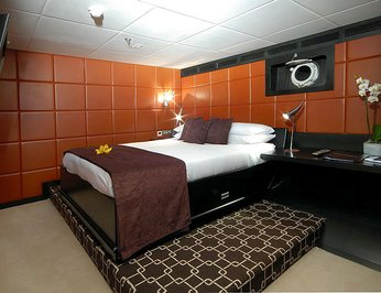 """Guest """"Leather"""" Stateroom"""
