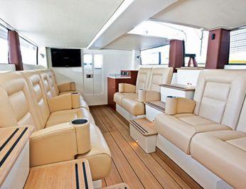 Interior Seating of Tender