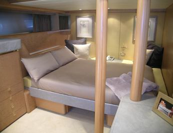 Twin Stateroom - Converted to Queen