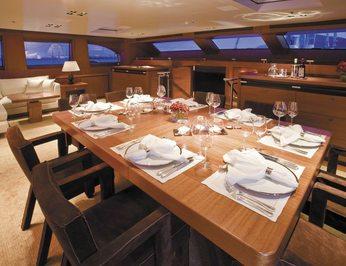 Upper Salon Dining - Evening
