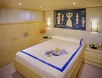 Blue Guest Stateroom