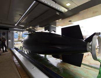 Submarine - Rear View