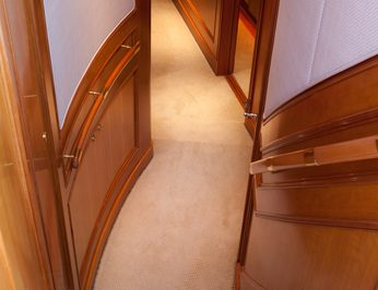 Stairwell to Cabins