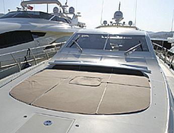 Front deck