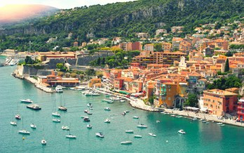 French Riviera itinerary