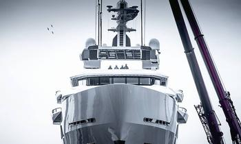 New Photos: 90m Oceanco DREAMBOAT hits the water
