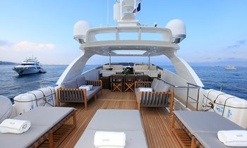30M superyacht SUD: Special 15% reduction for Mediterranean charters