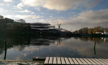 Largest Feadship Superyacht (Hull 808) Launched
