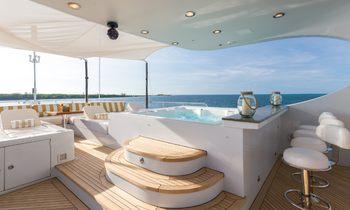 50m AMARULA SUN: Unmissable Bahamas charter rate