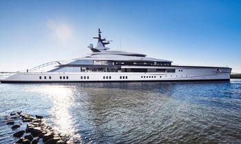 109m superyacht 'Bravo Eugenia' delivered by Oceanco