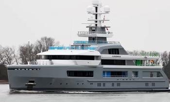 Exclusive First Video: M/Y CLOUDBREAK Undergoing Sea Trials