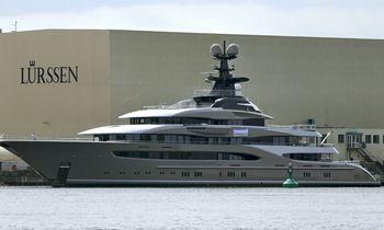 New Lürssen Yacht Confirmed as 'Kismet'