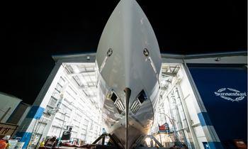 First Glimpse of Motor Yacht 'Princess AVK'