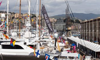 Superyachts Prepare for the MYBA Charter Show