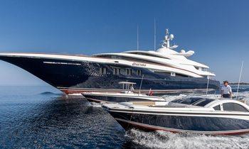 Popular M/Y ANASTASIA renamed as superyacht WHEELS