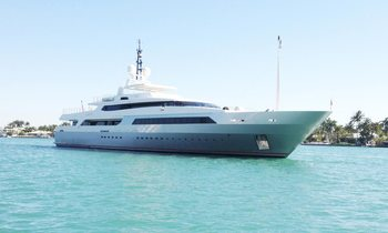 M/Y VICKY available for charter at the Monaco Grand Prix