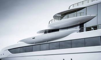 80m Abeking & Rasmussen superyacht EXCELLENCE hits the water