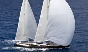 Freshly refitted 57m sailing yacht TWIZZLE offers 2022 Baltics charters