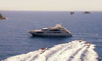 Princess Diana Movie - Yacht Chartered during filming with Naomi Watts