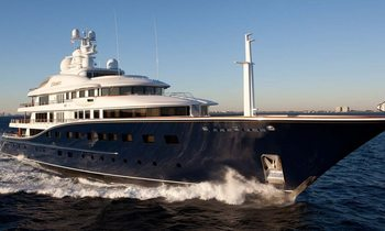 Superyacht Aquila refit and auctions interior