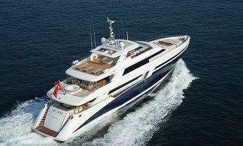Late Season Availability on Motor Yacht TATIANA in Ibiza