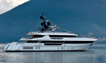 Charter yacht 'Lady Lena' hits the water
