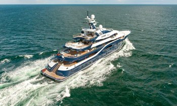 Charter Yacht SOLANDGE Delivered by Lurssen