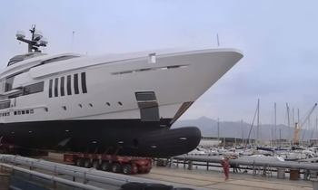 Video: Brand New M/Y OURANOS Launches