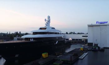 Time-lapse video shows 87m Feadship M/Y LONIAN being built
