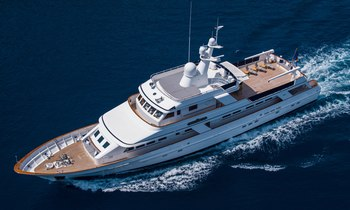 Last chance to charter 38m Feadship motor yacht MONACO in the West Mediterranean